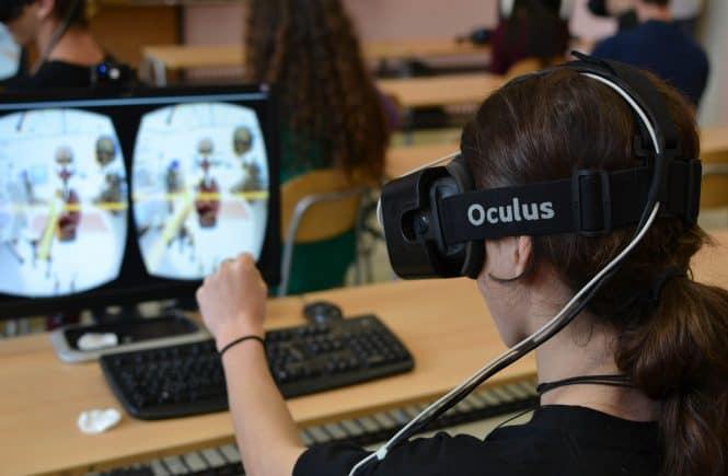 realidad virtual en educacion