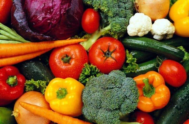 las verduras que tienen que comer lo niños y niñas