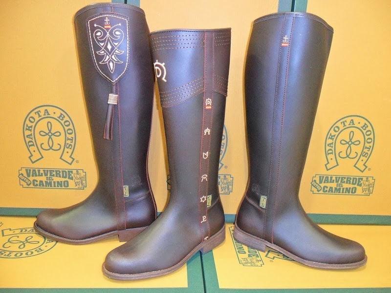 Hoy en día, las botas Valverde del Camino son famosas en toda Europa
