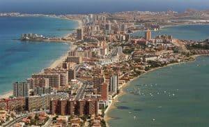 La manga del mar menor, Región de Murcia