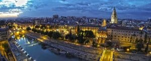 Diversión en la noche de Murcia