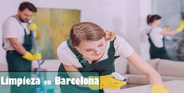 limpieza en barcelona con agencias especializadas
