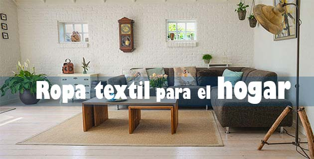 uso de la ropa textil para decorar la casa