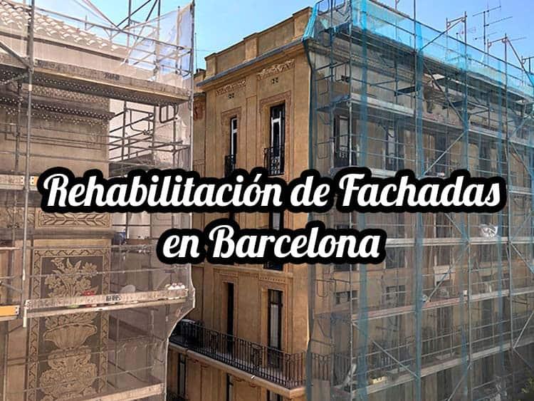 La actualidad de la rehabilitación de fachadas en Barcelona