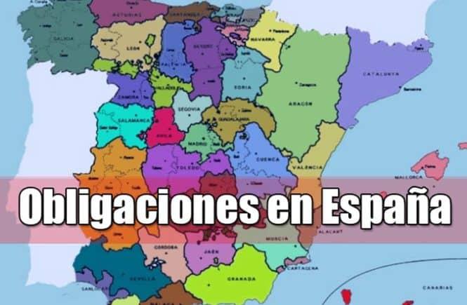 Obligaciones como ciudadano espanol